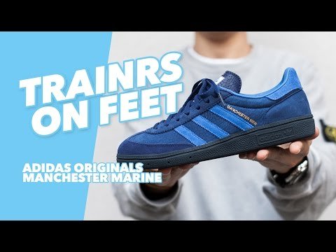 Adidas Originals Manchester Marine x Oi Polloi / TINT Footwear Studio