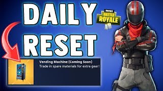 FORTNITE DAILY SKIN RESET - MACHINES VENDING!! Fortnite Battle Royale Nouveaux articles dans la boutique d'objets