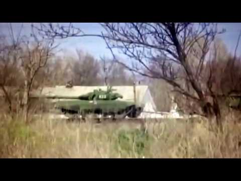 Russia Moves Dozens of Tanks on Ukraine Border