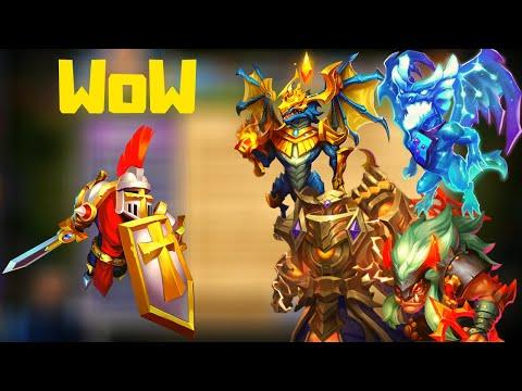 Paladin Beast Kills Alphamech | No Deflect | Castle Clash