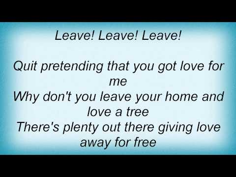 Jack White - Blues On Two Trees Lyrics