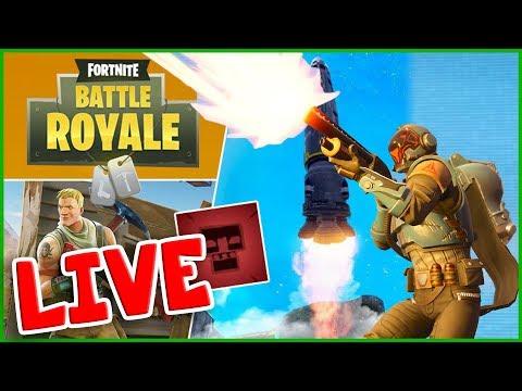 Fortnite ROCKET Launching in Battle Royale!!! MINI NINJA!
