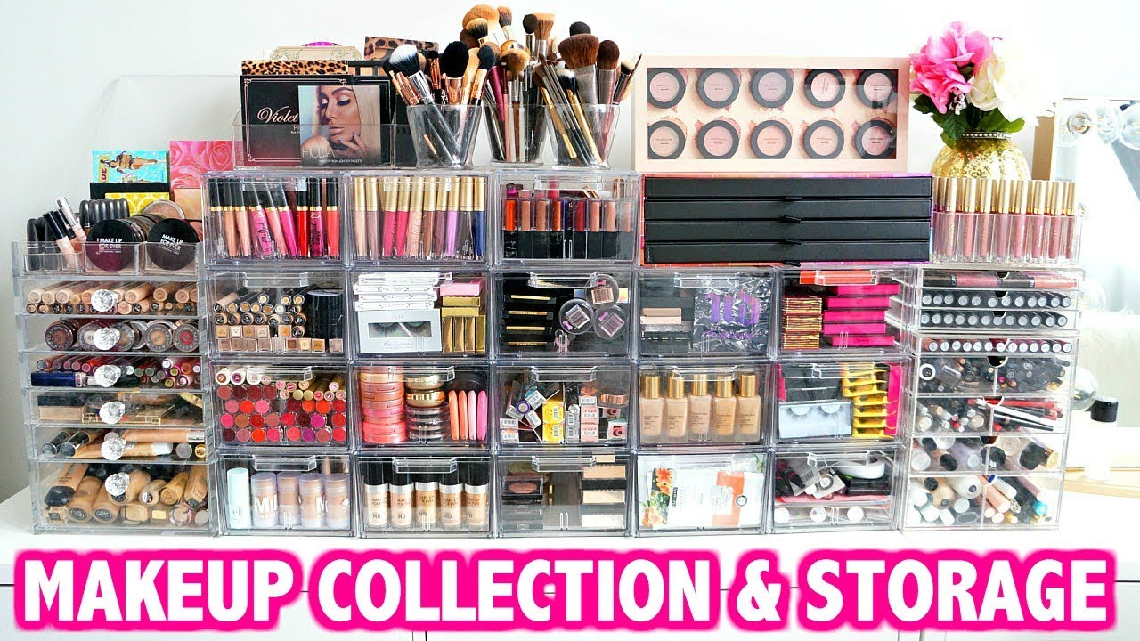 Makeup Collection And Storage Kelly Strack