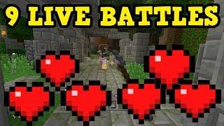 Minecraft PS4 TU58 - 9 Lives Battle Mode (Insanity)