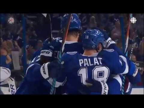 Last Minute Of Game 5 & Handshakes. Boston Bruins Vs Tampa Bay Lightning. 05/06/18