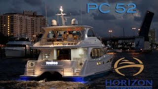 Horizon Yachts PC 52 - Power Catamaran - Speed, comfort and style