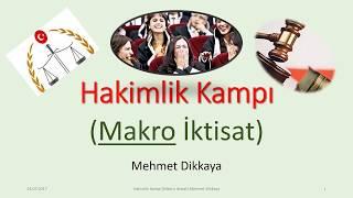 Makro İktisat (İdari Hakimlik) Çözümlü 73 Soru YENİ!!!!