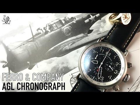 Ferro & Company - The Above Ground Level Watch Review - The Best Aviation Chronograph Under $300?