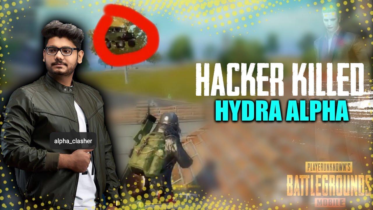 FLYING CAR HACKS IN PUBG MOBILE | HACKER KILLED HYDRA | Alpha || PUBG MOBILE HIGHLIGHTS!