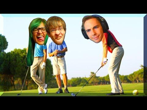 RAGER Robin eller Lasse mest? Golf It M. Robin og Samrita!