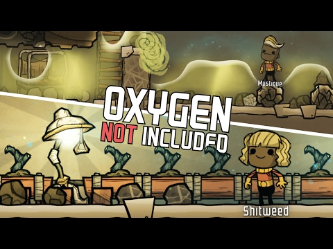 Oxygen Not Included - Farming in CHAOS! - Contamination Breach - Let's Play Oxygen Not Included Pt 4