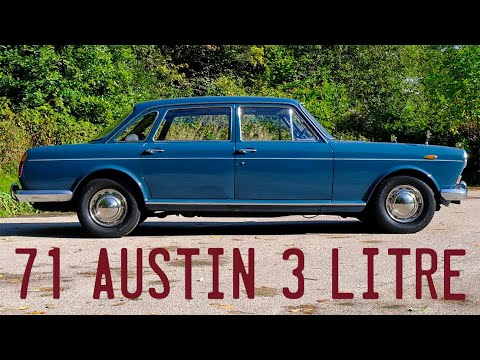 1971 Austin 3 Litre Goes For A Drive
