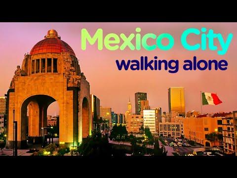 Walking Tour Mexico City - Videowalk【4K】🇲🇽