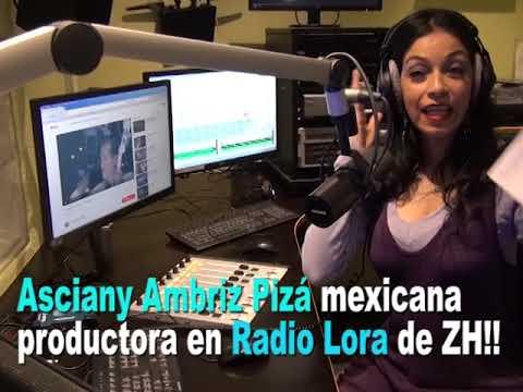 """Asciany AP y su programa """"Coctel Latino"""" en RAdio Lora Zurich!"""