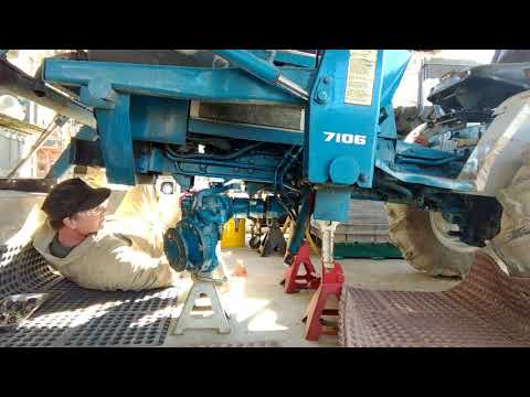 Ford 1220 4x4 Axle Repair Pt. 2: Repair and Installation
