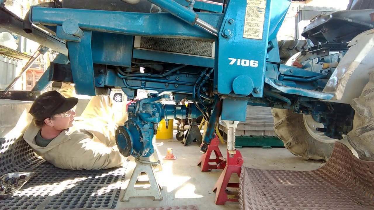 small resolution of ford 1220 4x4 axle repair pt 2 repair and installation