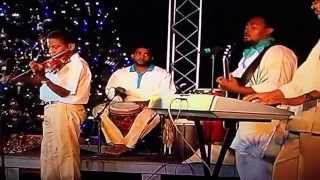 "Gordon Solomon and the Cayman Islands Folk singers performing ""Christmas Breeze"" 2011"