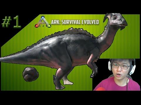 Kentut di Ark Survival Evolved Indonesia - Day 1