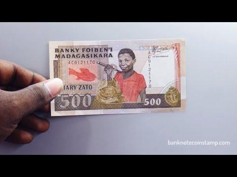 Madagascar 500 francs - Madagascar Banknote Review 500 ariary