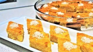 Апельсиновый РЕВАНИ - турецкая сладость | Быстрый рецепт | REVANI