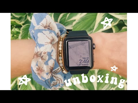 Apple Watch Series 3 42mm Unboxing + Set Up