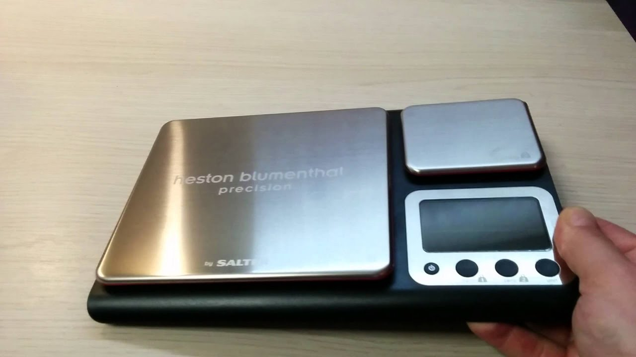 Unboxing Heston Blumenthal By Salter Dual Precision Digital Kitchen Scale