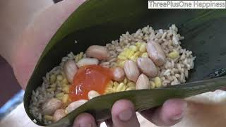 [ 3+1 ] Guang Dong Style Sticky Rice Dumplings / 廣東鹹肉粽