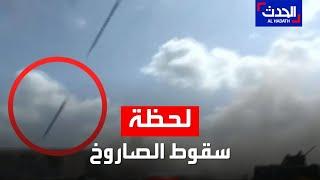شاهد.. فيديو يظهر سقوط صاروخ في صالة مطار عدن