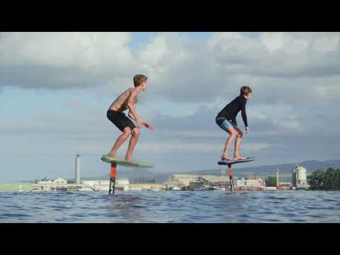 No Wakeboard Boat, No Problem - Welcome to the Foil