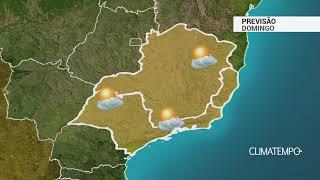 Previsão Sudeste – Domingo com muito sol