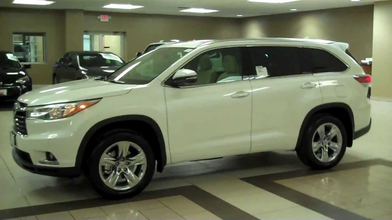 2014 Toyota Highlander Platinum Exteior Tour East Madison