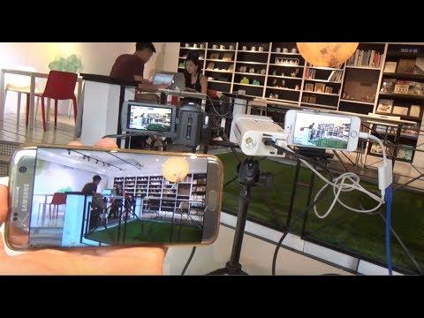 use Facebook Live on iPhone to livestream broadcast DV  Camcorder DSLR
