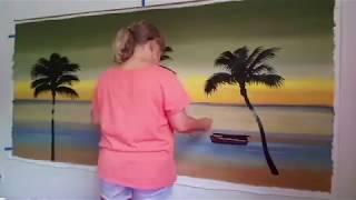 Watch Me Paint - Seascape Painting