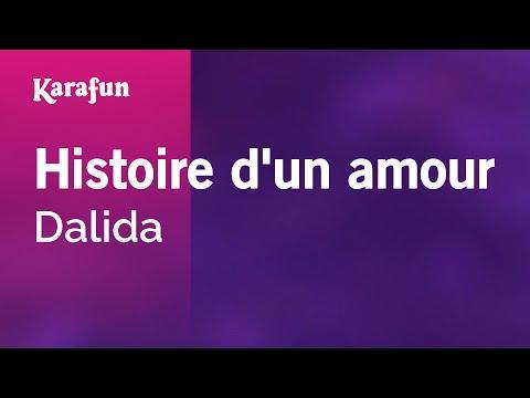 Karaoke Histoire d'un amour - Dalida *
