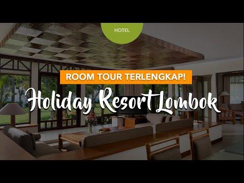 Room Tour Lengkap Holiday Resort Lombok Senggigi   Resort Tropical di Pinggir Pantai