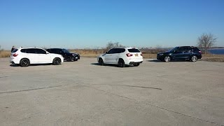 "BMW's ""RACING"" X3 35i vs. X3 28i w/ Race Chip Ultimate vs. E90 335i"