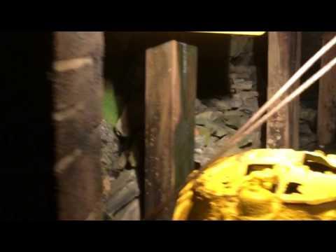 My mine tour in slab fork coal mine in West Virginia