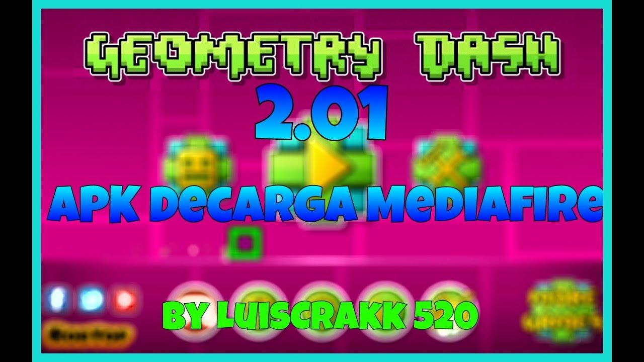 Geometry Dash 2 0 Apk Mediafire Youtube
