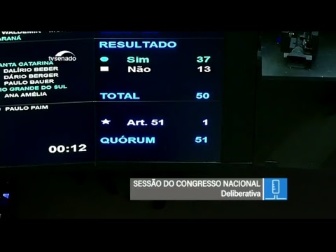 Vetos - TV Senado ao vivo - Congresso - 04/07/2018