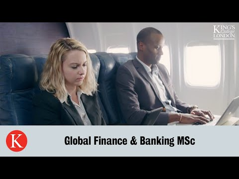 Global Finance & Banking Online MSc, PG Dip, PG Cert