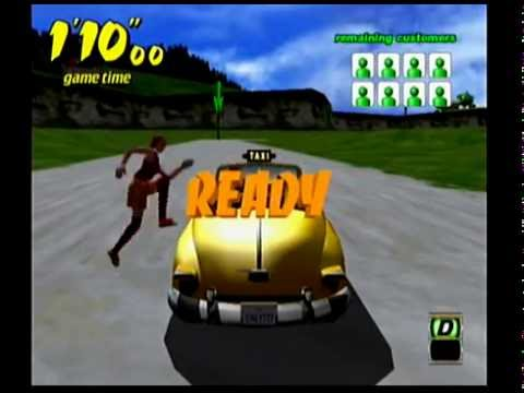 Crazy Taxi (DC) - All Crazy Box Challenges - 15'42