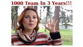 How To Get 1000 People On Your Team In 3 Years In Essante Organics