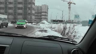 Первый урок на личном автомобиле в Санкт - Петербурге.