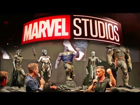 Thumbnail: Marvel reveals Thanos Children, Infinity Gauntlet + Booth Tour at D23 Expo 2017