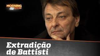 Dependendo do Bolsonaro, Cesare Battisti vai ser extraditado