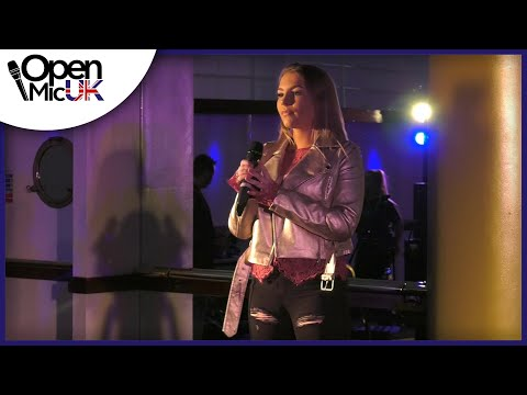 PHOTOGRAPH – ED SHEERAN performed by RHEANNON STOKES at Open Mic UK music competition