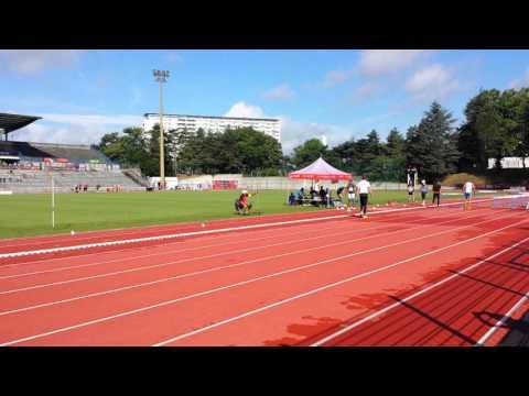 Lyon France Alfred Short Long Jump
