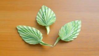 Как Сделать Листочки Розы Из Бумаги Своими руками. Оригами цветы(Показываю и Рассказываю, как сделать для розы из бумаги красивые изящные листики своими руками. Такие листо..., 2015-03-05T22:21:51.000Z)