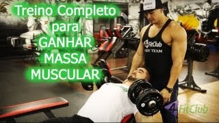 Treino para Ganhar Massa Muscular thumbnail