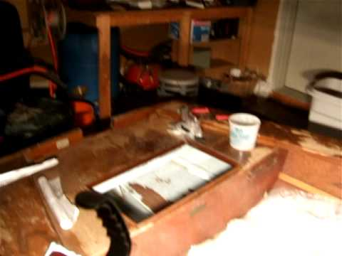 wayfarer 16ft sailboat restoration AVI - YouTube
